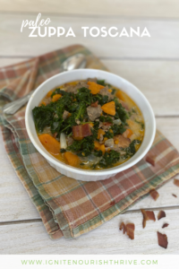 Paleo Zuppa Toscana Recipe - Share on Pinterest!